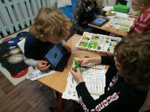 zajęcia z programowania i robotyki LEGO